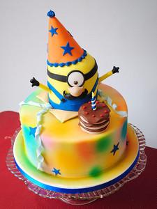 Celebrating Minion Cake