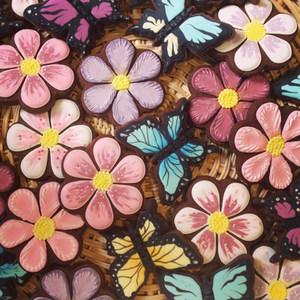 Flowers and Butterflies Cookies