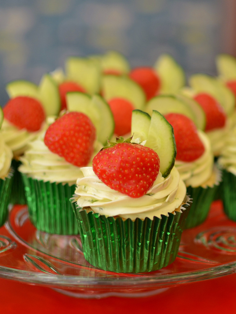 Pimm's Cupcake