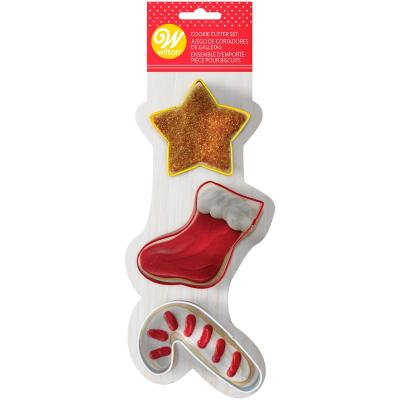 Christmas Treats Cookie Cutters Set of 3