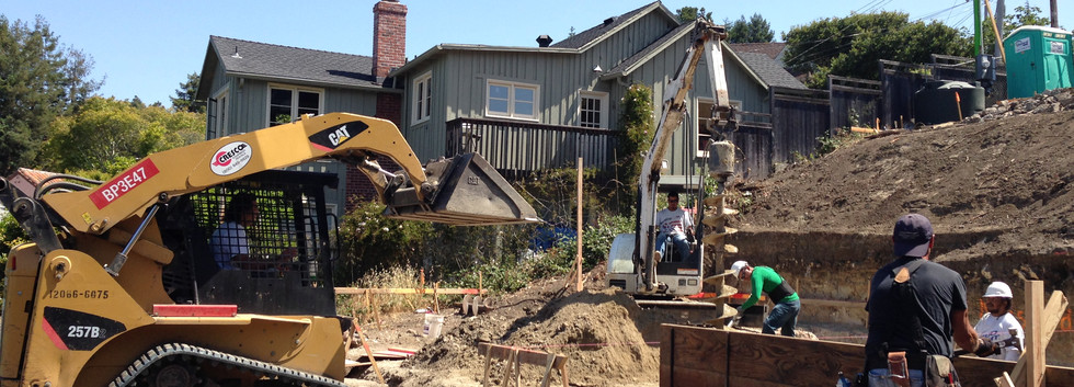 Drilling for Foundation Piers