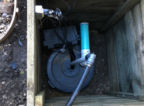 French Drain - Sump Pump