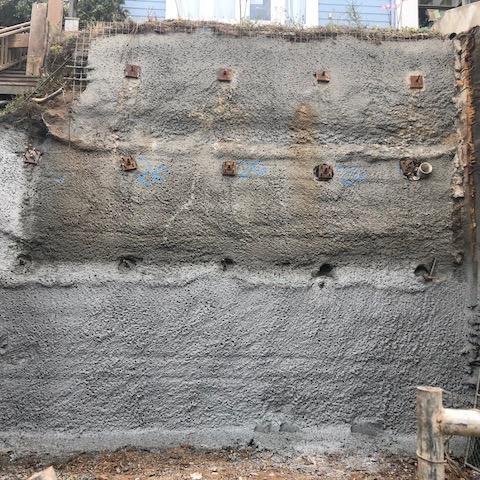 Soil Retention Tiebacks