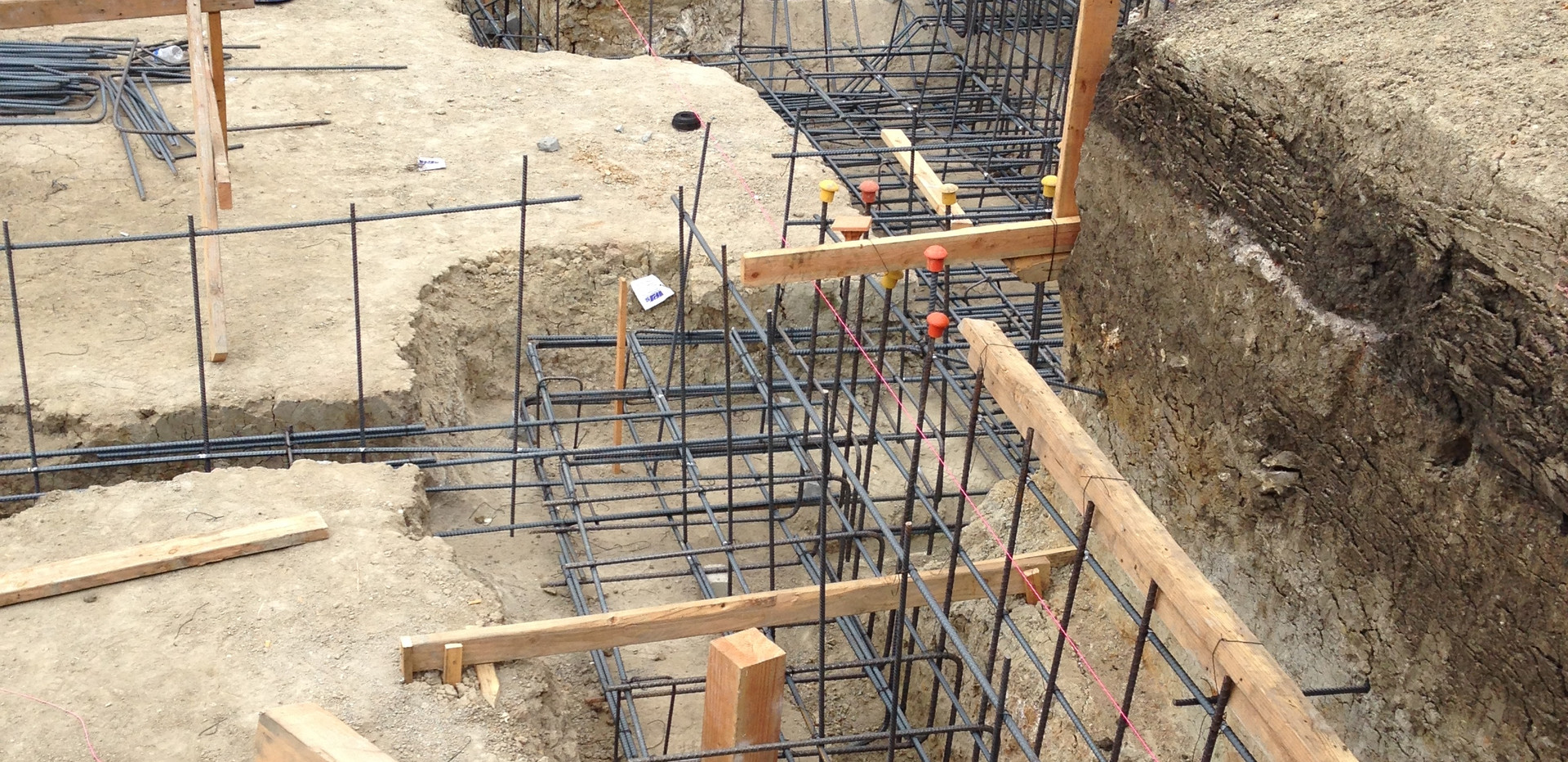 New Foundation In Berkeley Hills