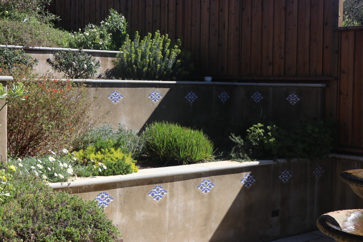 Concrete Stamped Wall