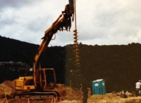 Foundation Pier Drilling