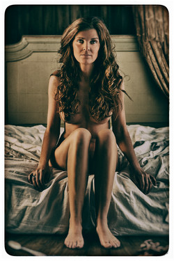 Helene in bed