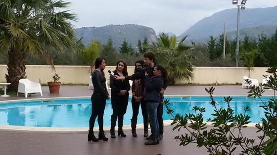 Entrevista Prensa Sicilia, Italia.