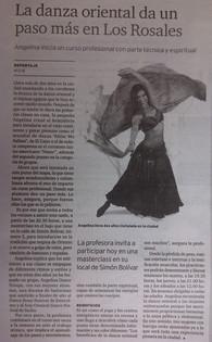 Angelina Masud en El Correo Gallego A Coruña