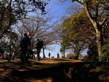 三日月山~立花山 低山最高!(2021年2月13日)