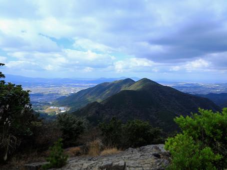 晩秋の尺岳歩き(2020年11月28日)