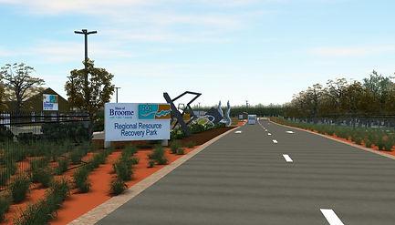 Broome RRRP Entrance Visual Concept