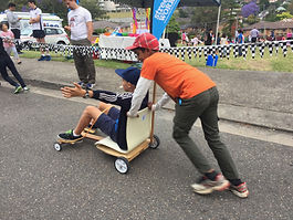 Billy Kart races to promote Men's health and wellbeing