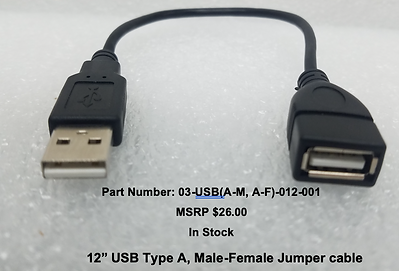 12in USB A-M to A-F Jumper;191010.png