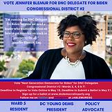 Jennifer Blemur for DNC Delegate for Bid
