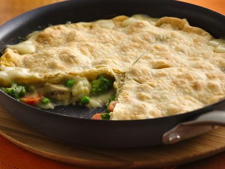 Skillet Chicken Pot Pie-Diabetic Recipe