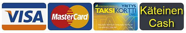 Tilaa taksi Sotkamo - maksutavat taxi