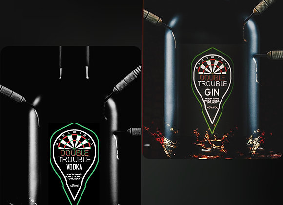 Team Vodka Vs Team Gin - Double Trouble Darts Party Pack