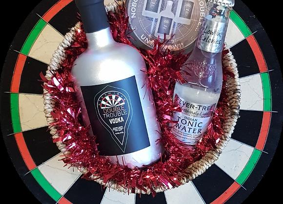 Silver Double Trouble Vodka 50cl & Flights