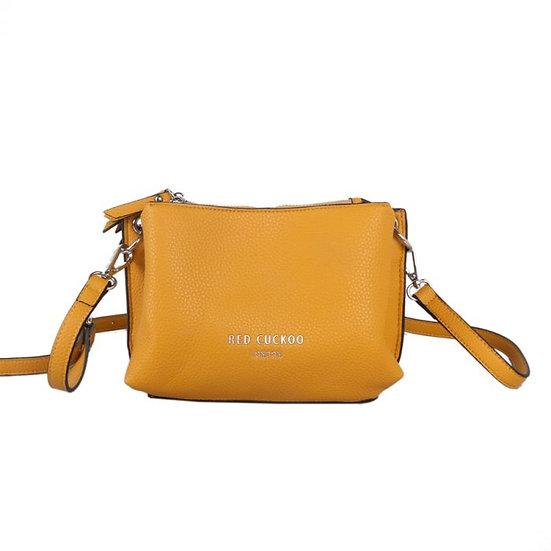 Vegan Leather Multiway Zip Fastening Cross Body Bag