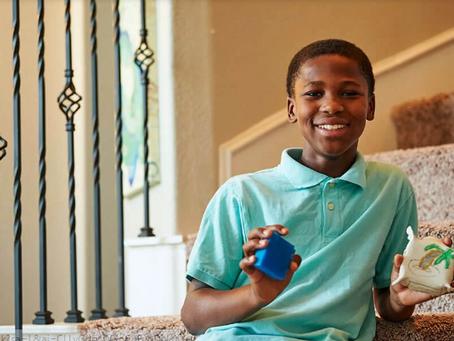 Ce brillant garçon de 11 ans a reçu un brevet pour son invention..