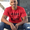 Thumbnail: Vegan and Black Unisex Jersey Short Sleeve Tee -  CUSTOMER INSPIRED