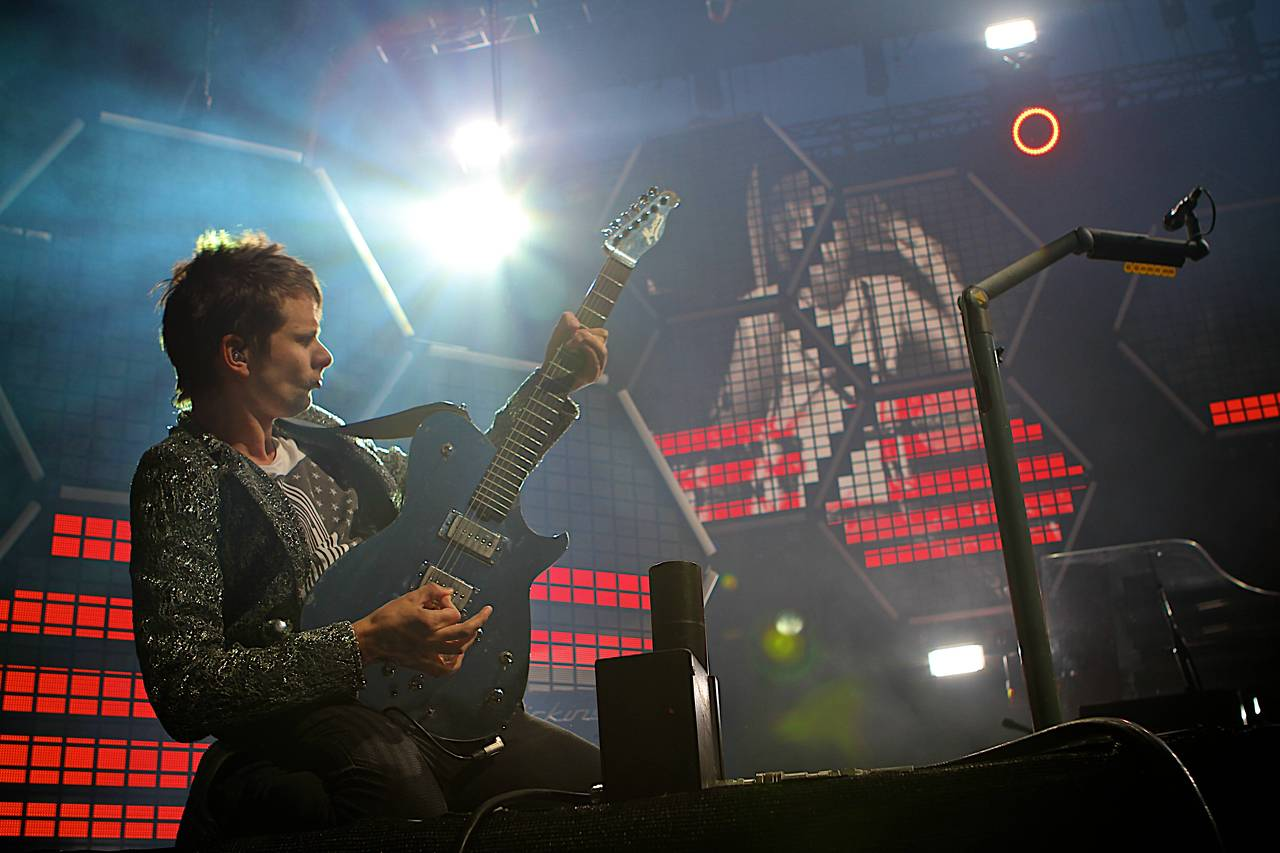 Muse at Outside Lands Fest 2011