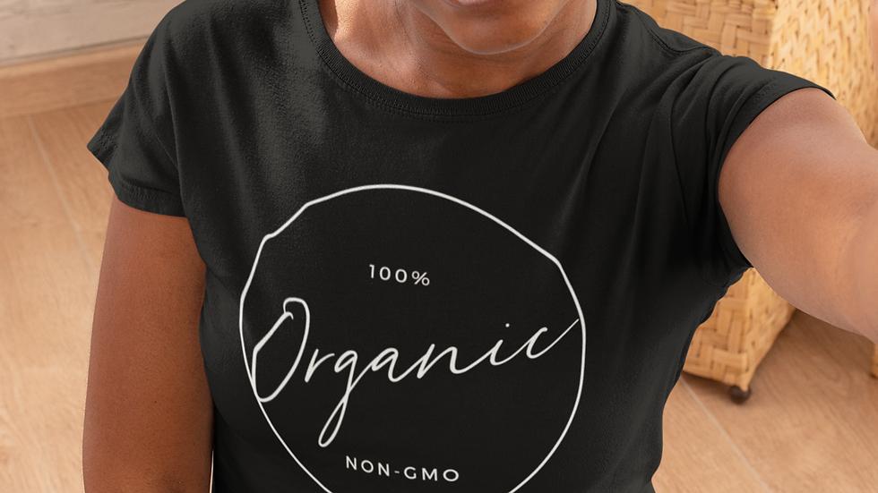 100% Organic Unisex Jersey Short Sleeve Tee
