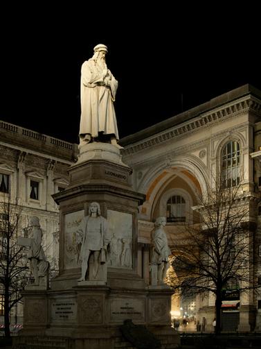 Monumento a L.Da Vinci