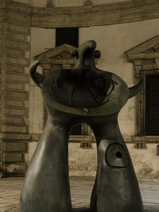 Statua Mère Ubu, Joan Mirò