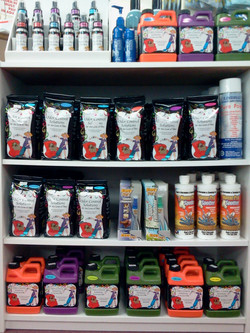 Pet Lovers carpet cleaning supplies