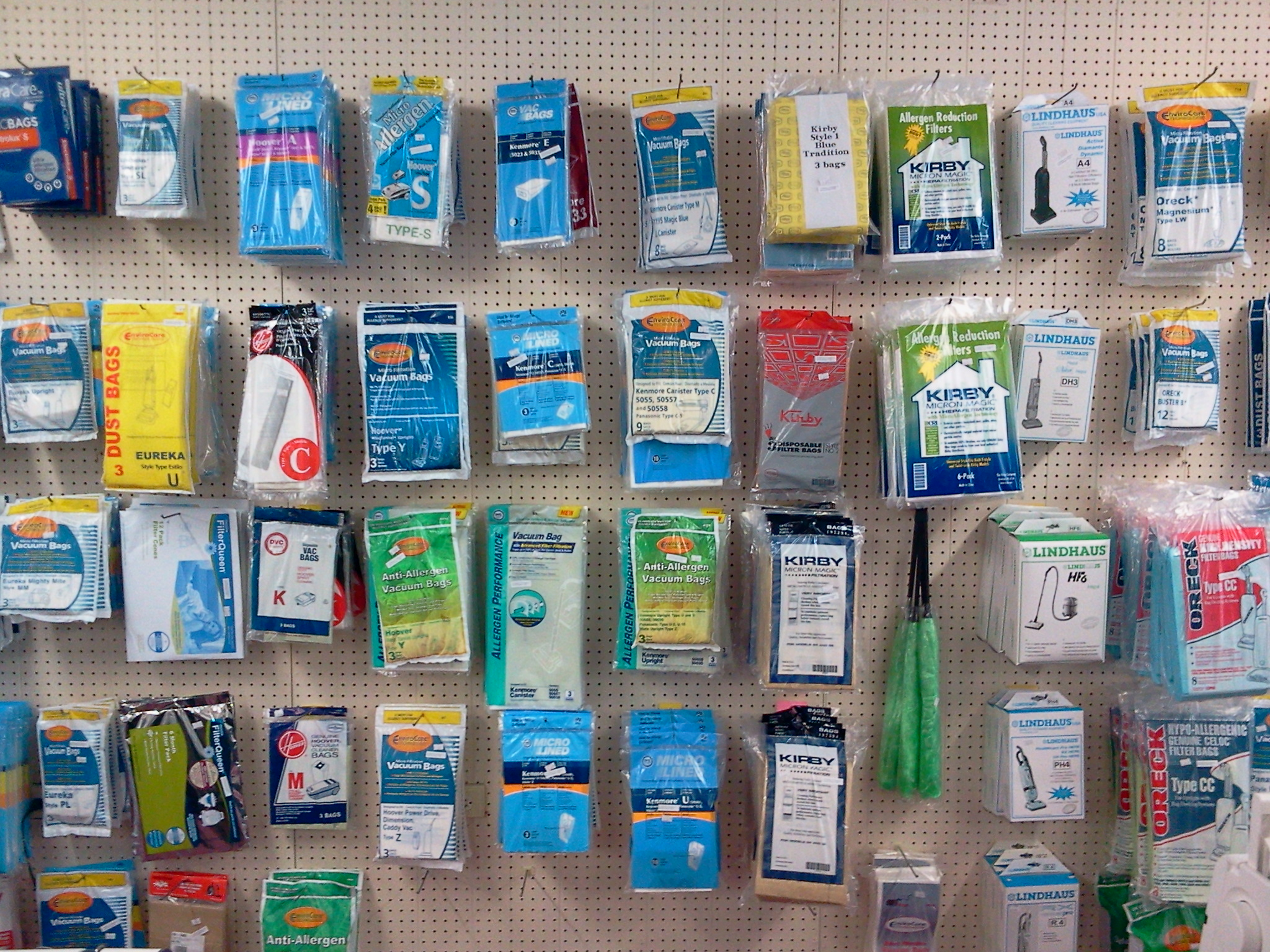 Vacuum bags and belts