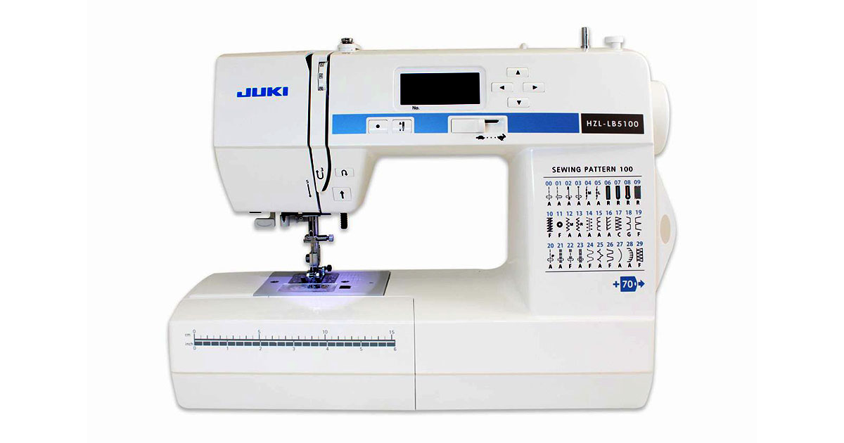 Juki-HZL-LB5100-Computerized-Sewing-Mach