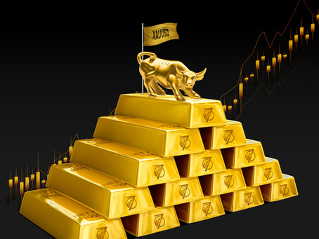 WILL GOLD STRUGGLE TO COME UP BACK TO IT'S POSITION?