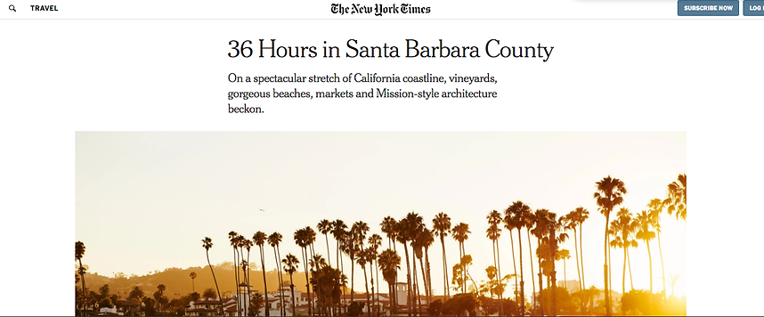 New York Times - 36 Hours