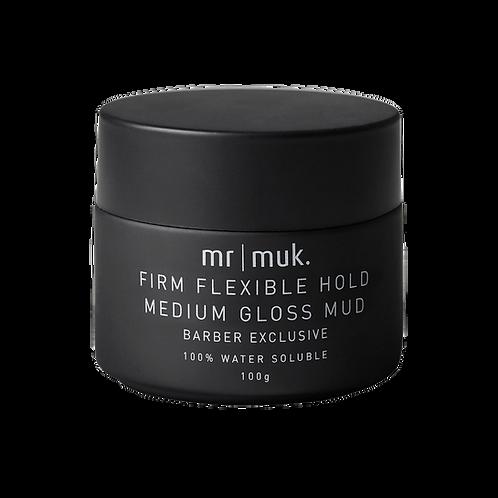 Mr Muk Firm Flexible Hold Medium Gloss Mud 100g