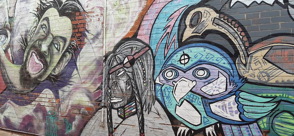 Sale Graffiti wall mural