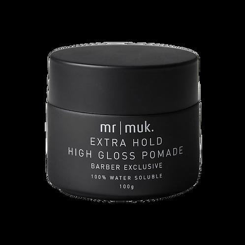 Mr Muk Extra Hold High Gloss Pomade 100g