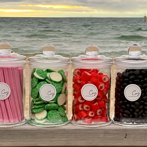 Lolly Jars - Small $12, Large $22