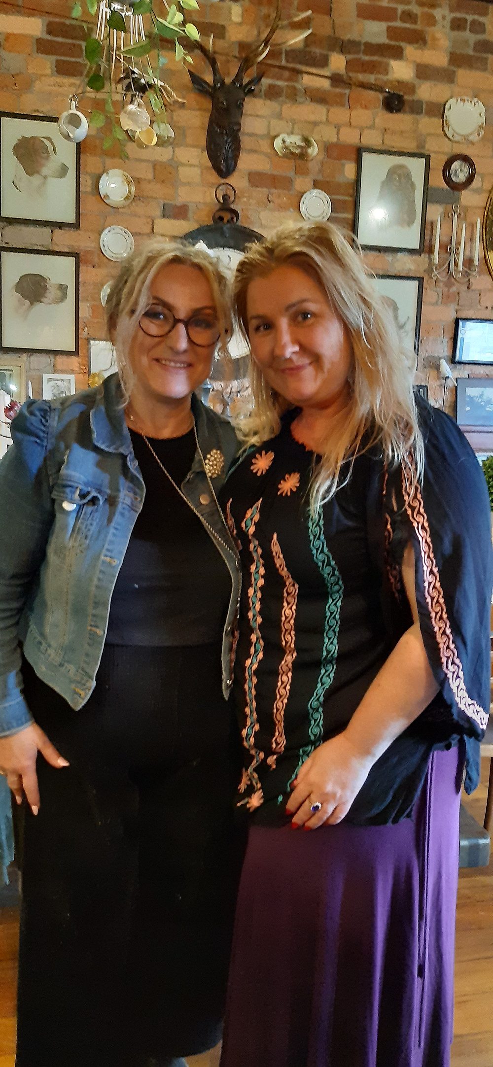 Cathy and Lizzy Rosedale Café