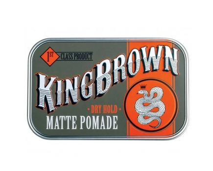 King Brown Matte Pomade