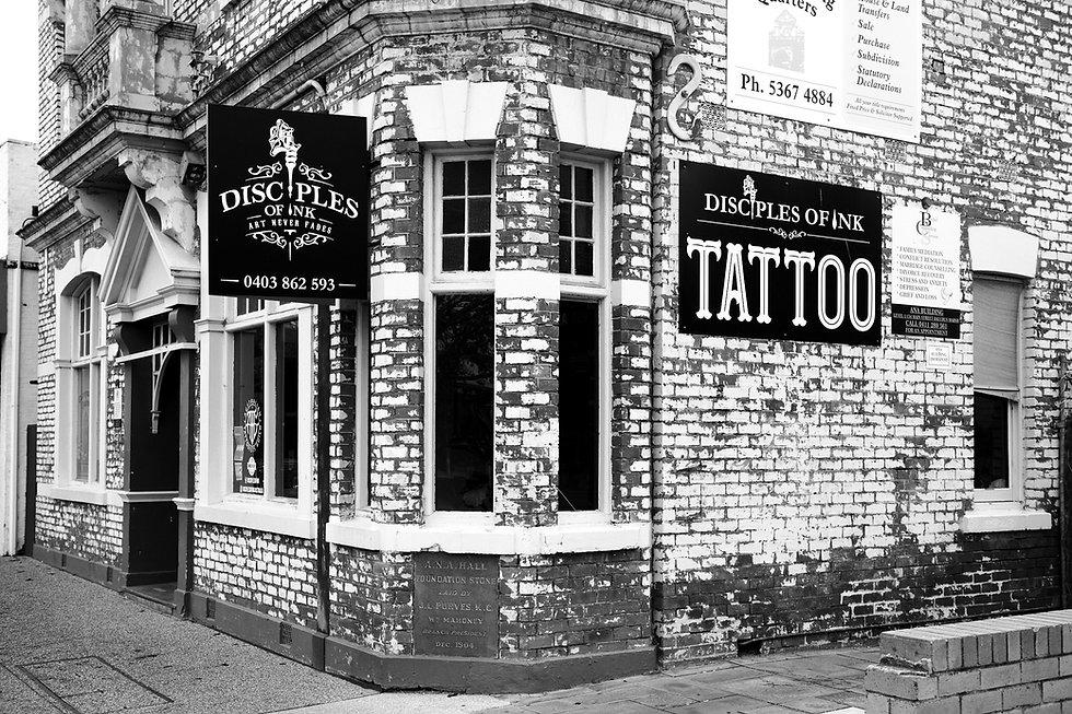Tattoo Shop Bacchus Marsh