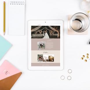 Wix Web Design Templates Feminine Templates