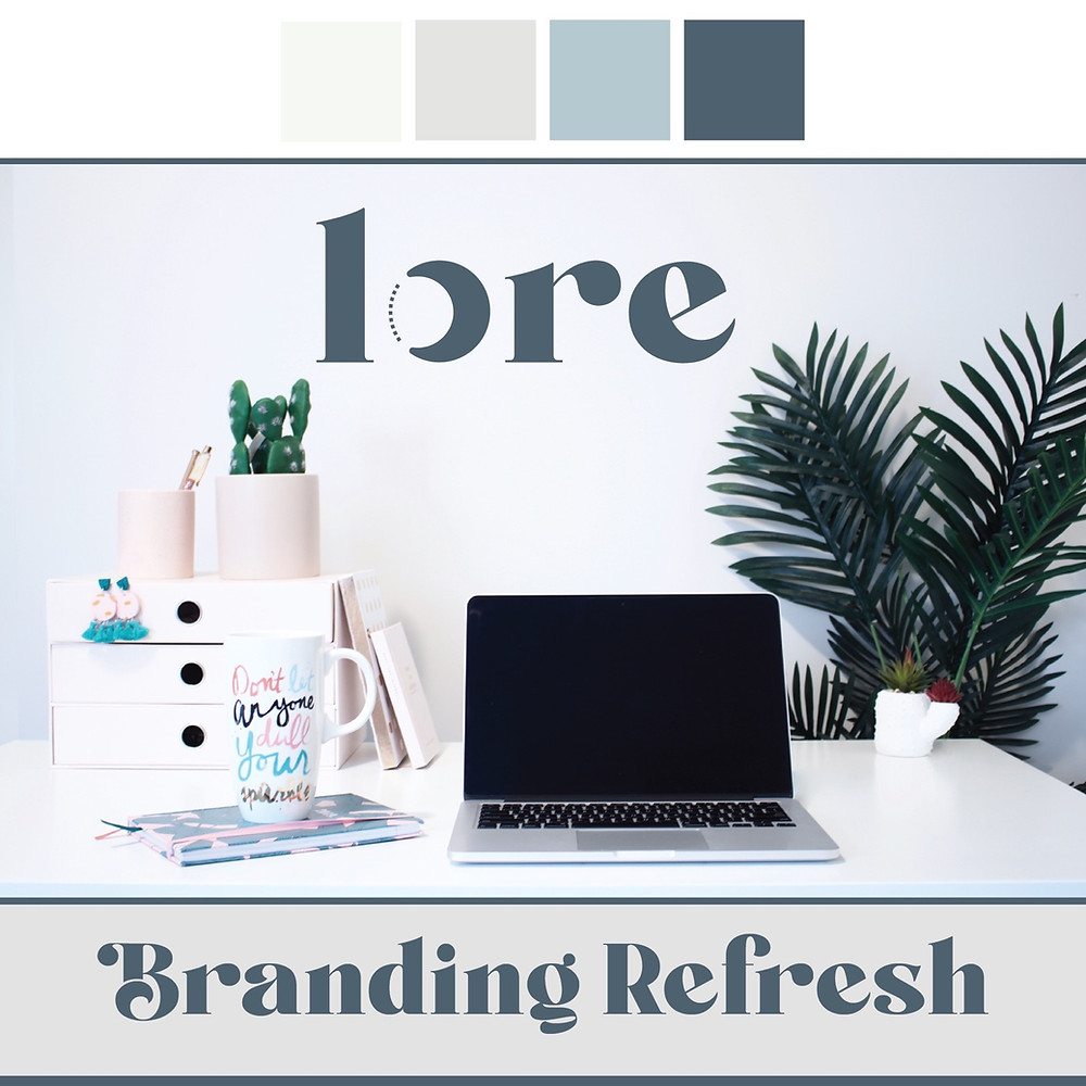Lore Design Co Brand Refresh