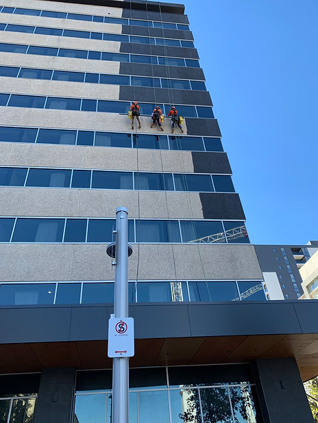 Hi-rise Facade Painting canberra