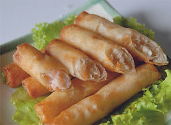SUNNY SEAFOOD SPRING ROLLS