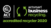 200022Actsmart Business Recycling Black