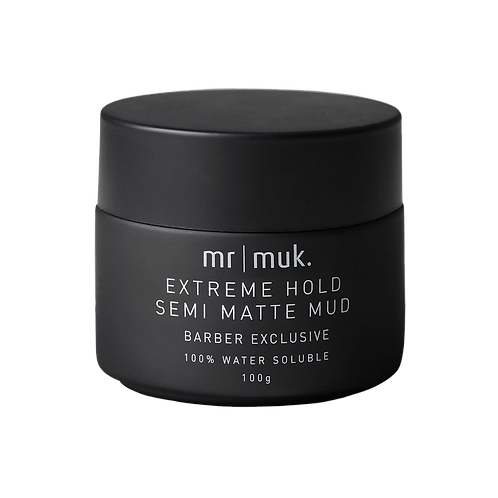 Mr Muk Extreme Hold Semi Matte Mud 100g