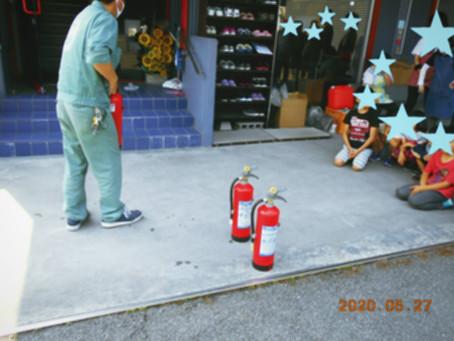 令和2年度 消防訓練の様子