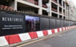 Забор для строительной площадки